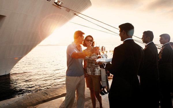 Wedding Cruises with Silversea Cruises