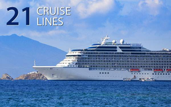 Cruise Deals by Cruise Line!