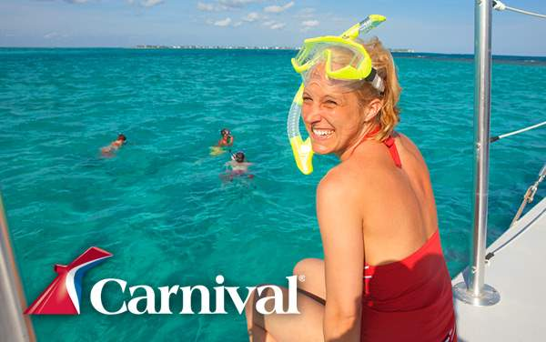 Carnival Bahamas cruises from $179