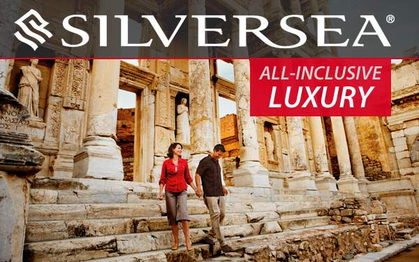 Silversea: FREE Gratuities, FREE Drinks, Butler...