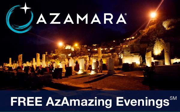 Azamara: Private Shore Event, Free Gratuities...