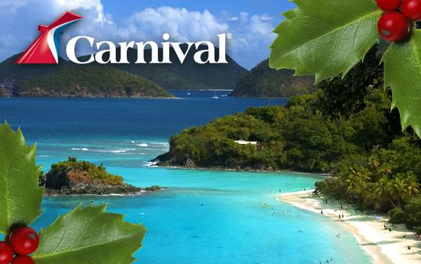 Carnival Holiday cruises from $244.00!*