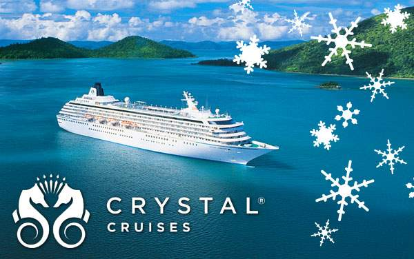 Crystal Cruises Holiday cruises from $2,337