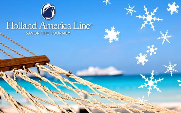 Holland America Holiday cruises from $449.00!*