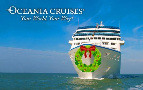 Oceania Cruises Holiday cruises from $1,399