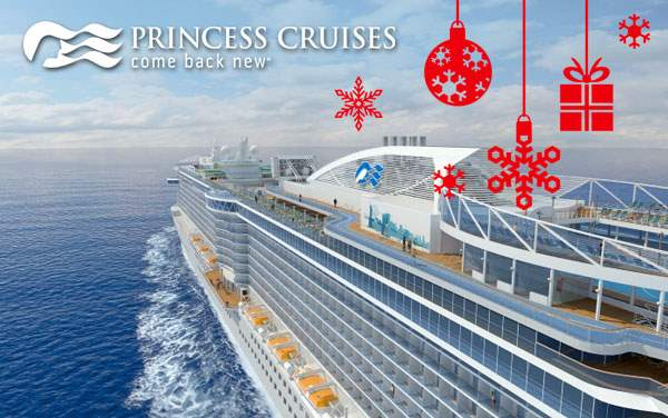 Princess Cruises Holiday cruises from $359.00!*