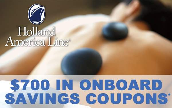 Holland America Sale: $700 in Onboard Savings*