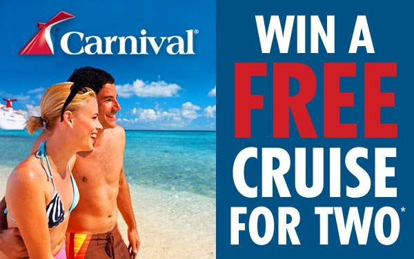 Win a FREE Cruise for Two*