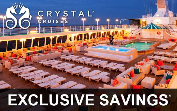 Crystal Cruises: Exclusive Savings