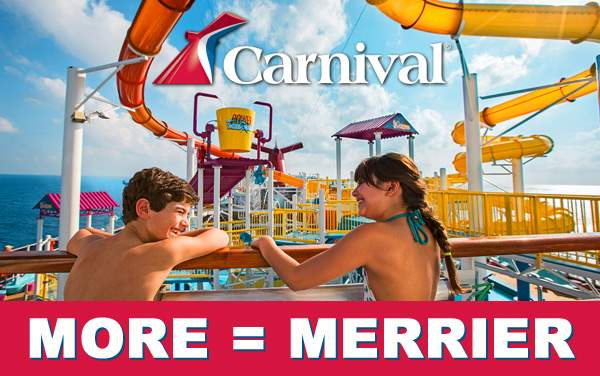Carnival Sale: Reduced Family Fares*