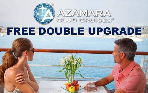 Azamara Club Cruises: FREE Veranda Upgrade*