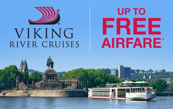 Viking Rivers: up to FREE Air*