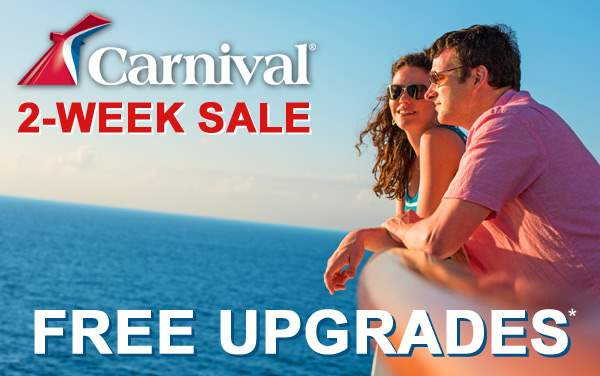 Carnival 2-Week Sale: FREE Upgrades*