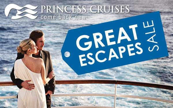 Princess Great Escapes Sale: up to $1,000 OFF*