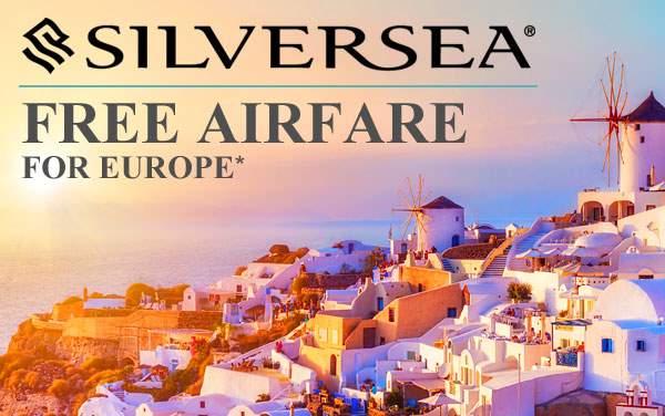 Silversea Cruises: FREE Roundtrip Airfare*