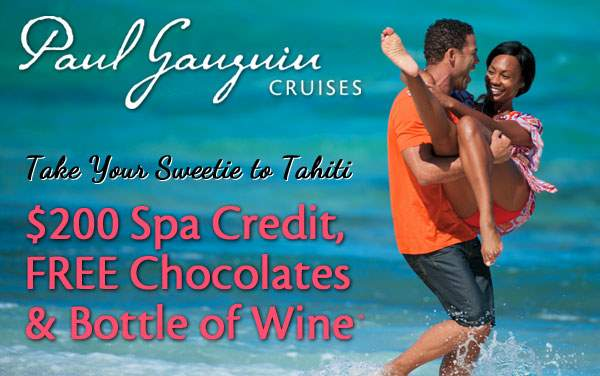 Paul Gauguin Sale: FREE Spa Credit and MORE*