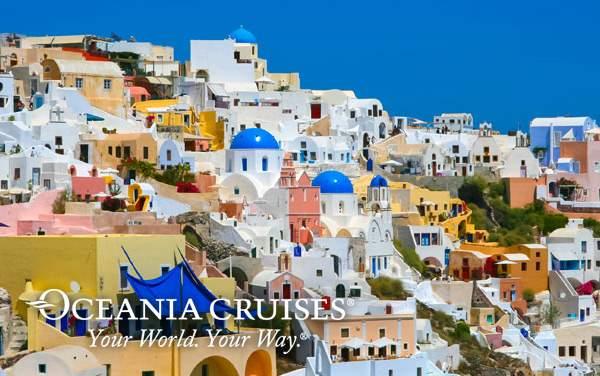 Oceania Cruises Mediterranean cruises from $1,499