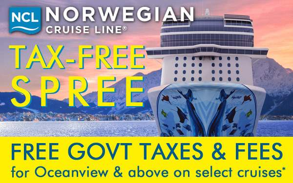 Norwegian Tax-Free Sale: FREE Govt Taxes and Fees*