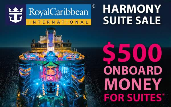 Royal Caribbean Harmony Sale: $500 OBC for Suites*