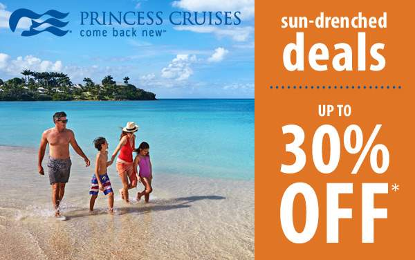 Princess Cruises: up to 30% OFF*