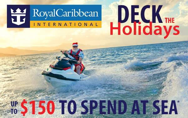 Royal Caribbean Holiday Sale: up to $150 OBC*