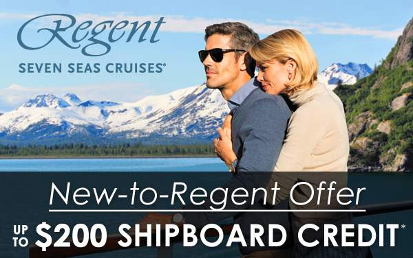 Regent Seven Seas: up to $200 OBC for New Guests*