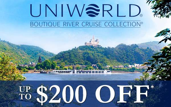 Uniworld Sale: up to $200 OFF*