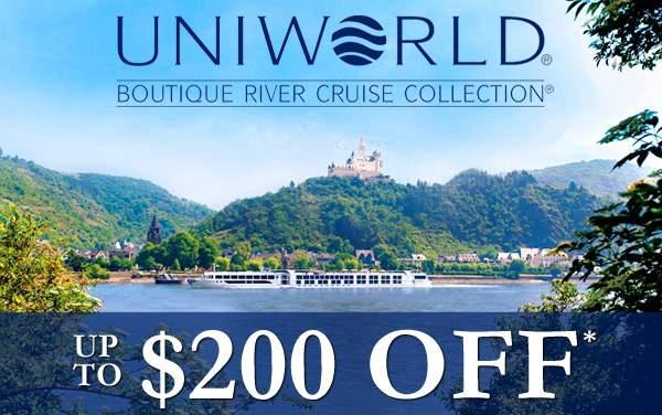 Uniworld Sale: up to $200 OFF*