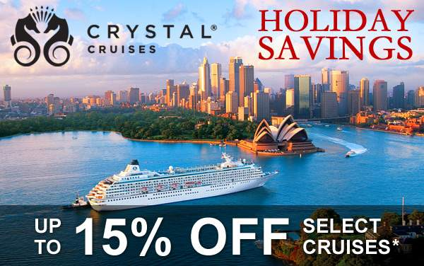 Crystal Holiday Sale: up to 15% OFF*