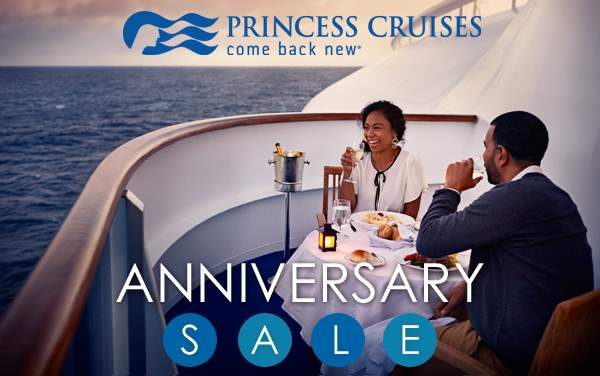 Princess: FREE Onboard Credit and Specialty Dining