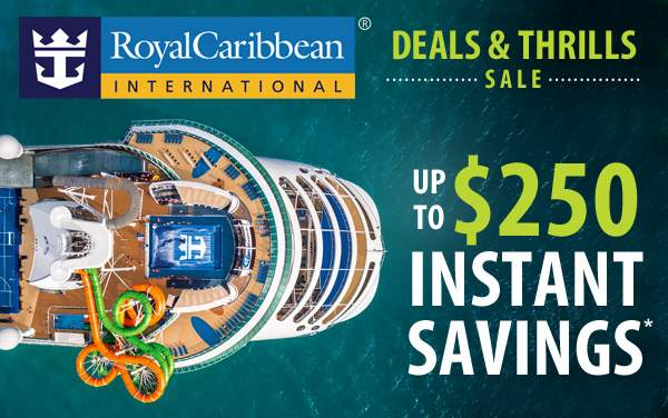 Royal Caribbean: up to $250 Instant Savings*