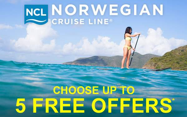 Norwegian Cruise Line: Choose up to 5 Free Offers