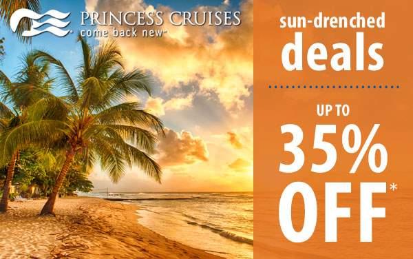 Princess Cruises: up to 35% OFF*