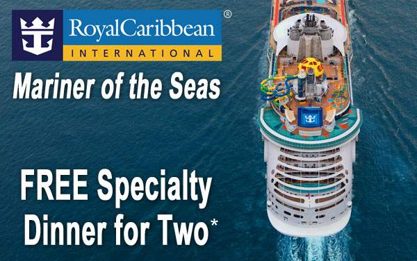 Royal Caribbean: Free Specialty Dinner for Mariner