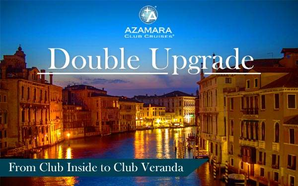 Azamara Club Cruises: FREE Double Upgrade