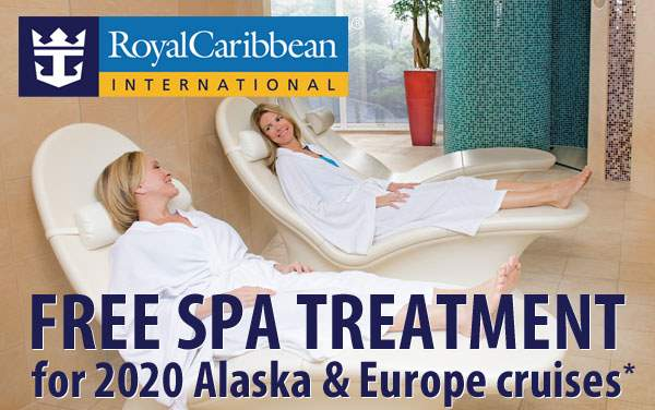 Royal Caribbean: Free Spa Treatment*