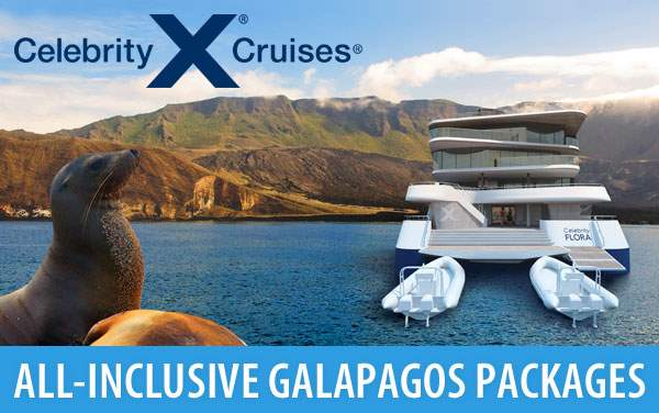 Galapagos Cruise Packages from Celebrity Cruises
