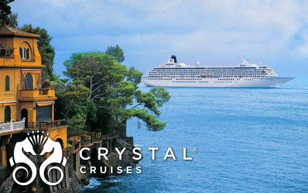 Crystal Mediterranean cruises from $3,145