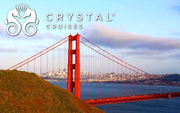 Crystal U.S. Pacific Coast cruises from $3,017*