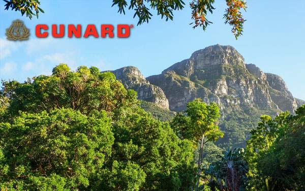 Cunard Line Africa cruises from $1,619*