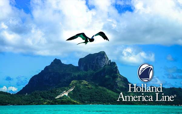 Holland America South Pacific/Tahiti cruises from $1,049*