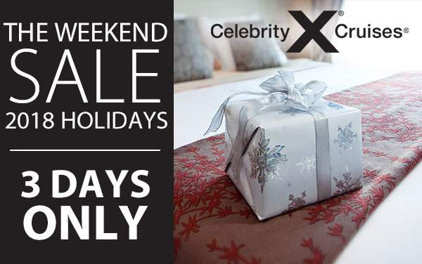 Celebrity Cruises Weekend Sale: Up to $200 Savings
