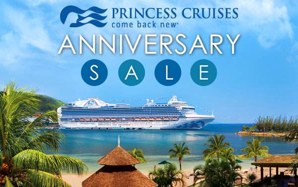 Princess Sale: Free Gratuities and up to $800 OBC*
