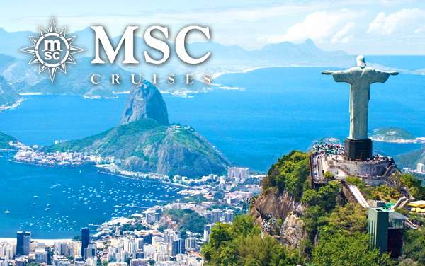 MSC Cruises South America cruises from $309*