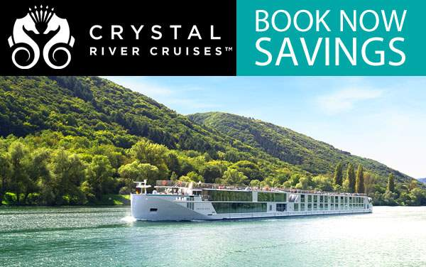 Crystal River Cruises: up to $3,000 Savings*
