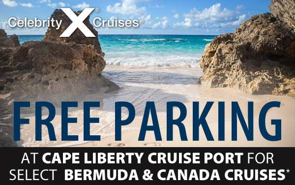 Celebrity Summit: Free Port Parking in Bayonne, NJ