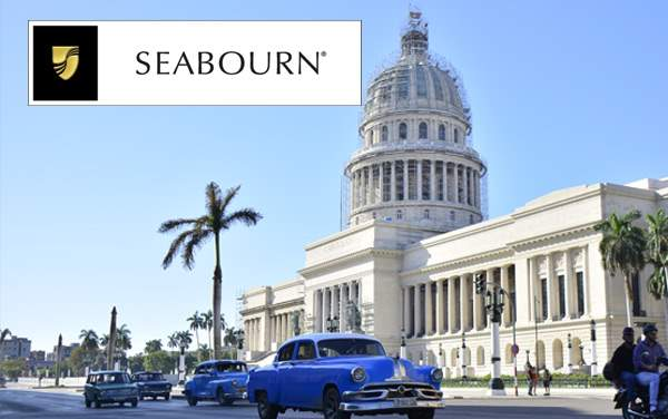 Seabourn Cuba cruises from $4,999*