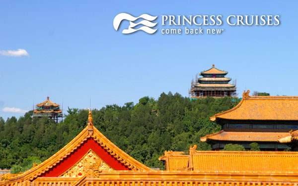 Princess China cruises from $1,599*