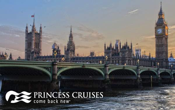Princess Northern Europe cruises from $727*