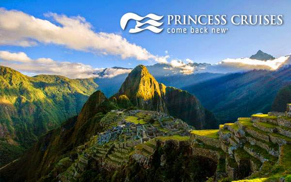 Princess South America cruise tours from $5,469*